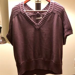 Old Navy V-Neck Short Sleeve Sweater